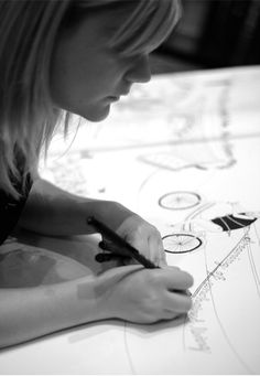 Live drawing in Munich Lindsey Spinks