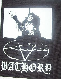 BATHORY quorthon patch black metal Free by LordOfTheLeftHand