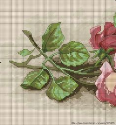 cross stitch roses PART 1