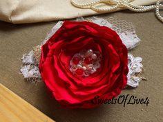 Свадебные волосы цветок Люкс волосы цветок Свадебные аксессуары для волос…