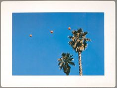 """John Baldessari, detail from the artist's book """"Throwing Three Balls in the Air to Get a Straight Line (Best of 36 Attempts),"""" 1973, color offset lithograph"""