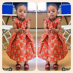 Check out the cutest ankara dresses for kids. These African print dresses for little girls with give you great ideas on making ankara print dresses for your girls. Ankara Styles For Kids, African Dresses For Kids, African Babies, African Children, African Print Dresses, African Print Fashion, Africa Fashion, African Fashion Dresses, African Women