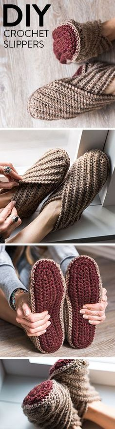 GET 50% OFF: Practice your basic crochet stitches and make yourself a cozy new pair of slippers. This Crochet project kit comes with an easy to follow pattern and all the yarn you need to make your very own footwear.