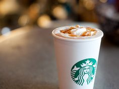 Starbucks Salted Carmel Mocha.  I am also a fan of the Caramel Brulee Latte.