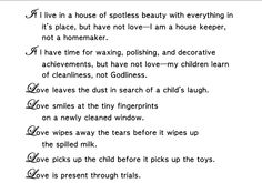 Love poem (The Duggar Family)---This is going up in my house. I couldn't have said it better myself. <3