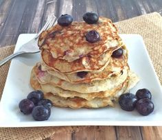10. Recipe: Blueberry Protein Pancakes
