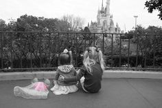 I never think these are cute, but this is adorable. Gender reveal photo from Disney!