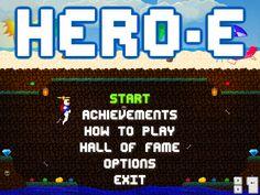 HERO-E indie Game Indie Games, Studios, Hero, Heroes