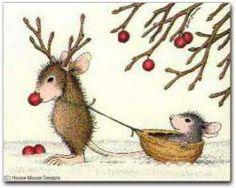 . Encontrado en house-mouse.com #Christmas