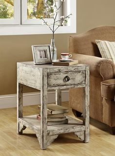 Monarch Specialties Living Room Wood Accent End Table
