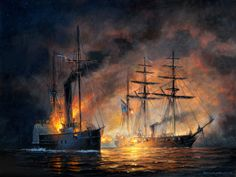 CSS Alabama v USS Hatteras, by Patrick O'Brien