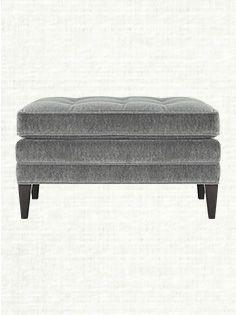 Ottomans | Leather & Round Ottomans | Arhaus Furniture