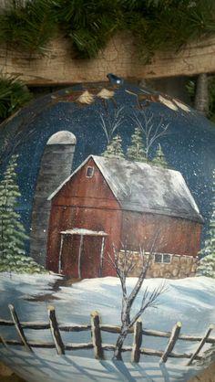 hand painted globe pic 3©