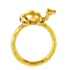 Julie Vos camel ring