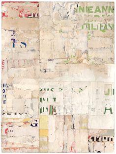 Lisa Hochstein. Unadorned – 2, salvaged paper.