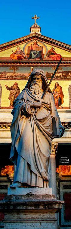 Basilica of Saint Paul Outside the Walls. Rome, Italy.