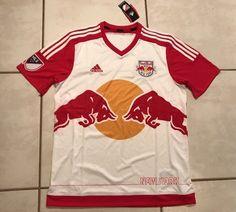 90e708ec147 NWT ADIDAS New York Red Bulls MLS Home Jersey Men s Large