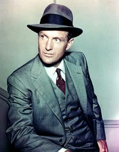 Robert Stack - great actor and the original Elliot Ness on the 50's TV show The Untouchables