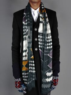 BURBERRY PRORSUM SCARF - ANTONIOLI OFFICIAL WEBSITE