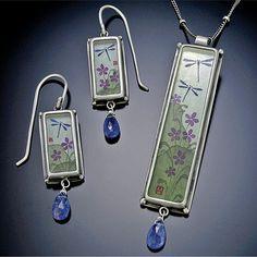 Dragonflies jewelry by Ananda Khalsa