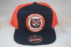 Detroit Tigers Gatekeeper Mesh Snapback Adjustable Hat by American Needle. $24.99. Gatekeeper Mesh Snapback Adjustable Hat. Plastic snapback closure. 100% Cotton. Five panel construction. Oversized team logo. Remember the past with this Detroit Tigers Gatekeeper Mesh Snapback Adjustable Hat. Brought to you by American Needle, this Detroit Tigers hat features retro team graphics, mesh back and is made from 100% cotton. Add some old school flair to your wardrobe with this one-of-...
