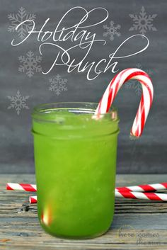 Holiday Punch Recipe {25 Days to an Organized Christmas}   Here Comes The Sun