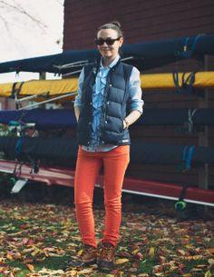 15 Ideas Bean Boats Outfit Winter Jeans Preppy For 2019 Puffy Vest Outfit, Vest Outfits, Denim Outfit, Cute Outfits, Bean Boots Style, Ll Bean Duck Boots, Preppy Style, My Style, Hipster Style