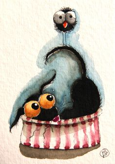 Cheeky Bird by stressiecat on Etsy, $18.00