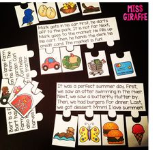 Reading fluency, comprehension, and sequencing all in a fun puzzle!! This set is for R controlled vowels but they are also there for other sounds! Great for first grade reading comprehension