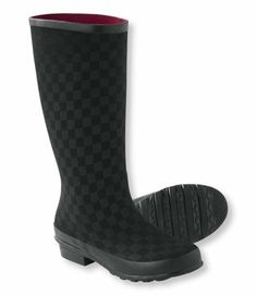 Freeport Wellies, Print: Rain Boots   Free Shipping at L.L.Bean  for the winter commute