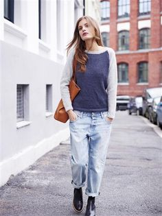 1411: Modell 7 Raglangenser #alpakka #strikk #knit