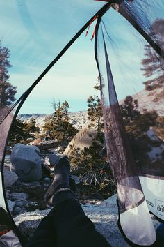 Set some time out of your weekend for a camping trip. #WeekendWhyNots