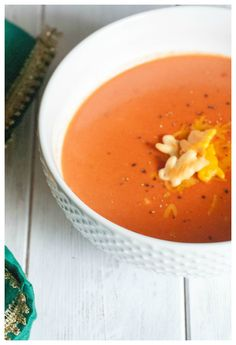 This creamy tomato soup has the perfect milk to tomato ratio. Kid and lunchbox friendly. Large batch recipe included!