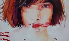 """Saatchi Online Artist: Ruth Shively; Oil 2012 Painting """"Ripe"""""""
