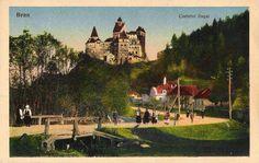 Bran - Castelul Regal - interbelica