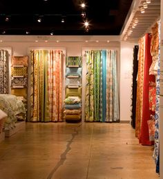 curtain shop display window love home fabric shop window ideas store