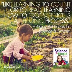 Encourage kids of all ages to experience the world fully, describe what they see, ask questions, repeat the experience, and think about the why of it. http://buff.ly/1Gkqsvj #sciencequotes