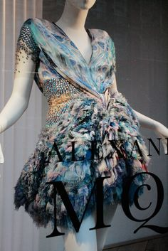 Alexander McQueen window display | Plato's Atlantis SS10