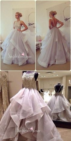 prom dresses 2016, princess long prom dresses, wedding dresses