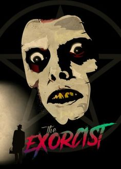 The Exorcist Canvas Print by colodesign Horror Movie Posters, Cinema Posters, Horror Movies, Old Movie Posters, Movie Poster Art, Gothic Horror, Horror Art, Scary Movies, Old Movies