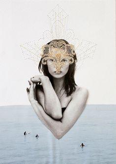Moss Juxtapoz Magazine - Collage Art by Ernesto Artillo