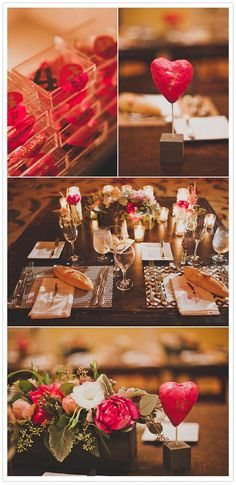 I love the idea of the newlyweds having their own table.. allows the couple to enjoy each other!