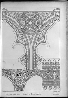 """Inspriation from """"Studies in design (1876)."""" by Christopher Dresser."""