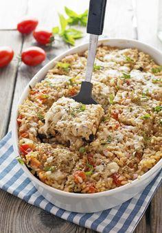 Eggplant Parm Rice Casserole                                                                                                                                                     More