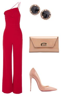 """Untitled #10"" by matinafragou on Polyvore featuring Cushnie Et Ochs, Anna Sheffield and Christian Louboutin"