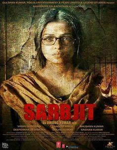 Poster Of Sarbjit (2016) Full Hindi Movie 700MB pDVDRip x264 Worldfree4u