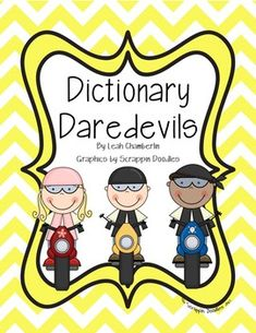 Teach your students the basic skills that they need to successfully use a dictionary.