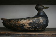 Great Folk Art Antique Duck Decoy Original Paint Early Primitive Virginia Rare Sold Ebay 310.00