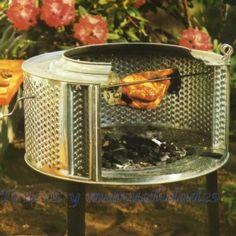 Asador al aire libre grill 1