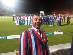 Jason Wilkes at #cricketforheroes